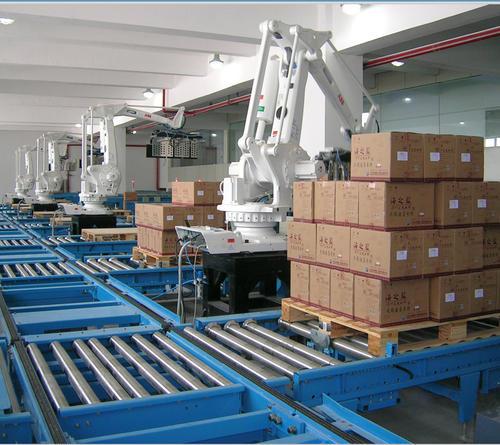 箱子搬运码垛机器人视频案例